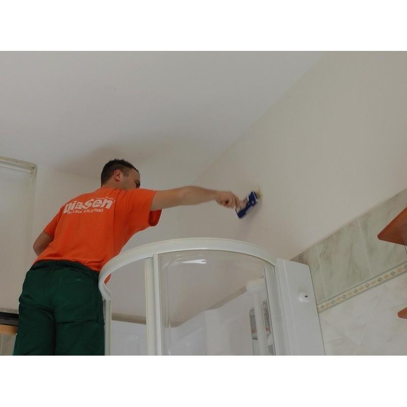 Application du revêtement Thermique et anti-moisissures