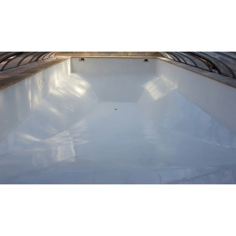R sine epoxy souple sp ciale piscine bassin for Peinture piscine epoxy