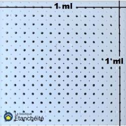 Plaque drainante en polystyrène expansé